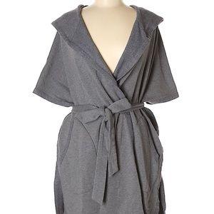 DKNY gray cardigan